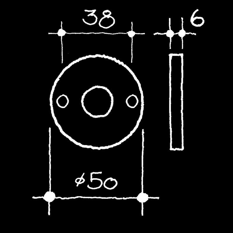 Rosetten Bauhaus (52.921.64.)