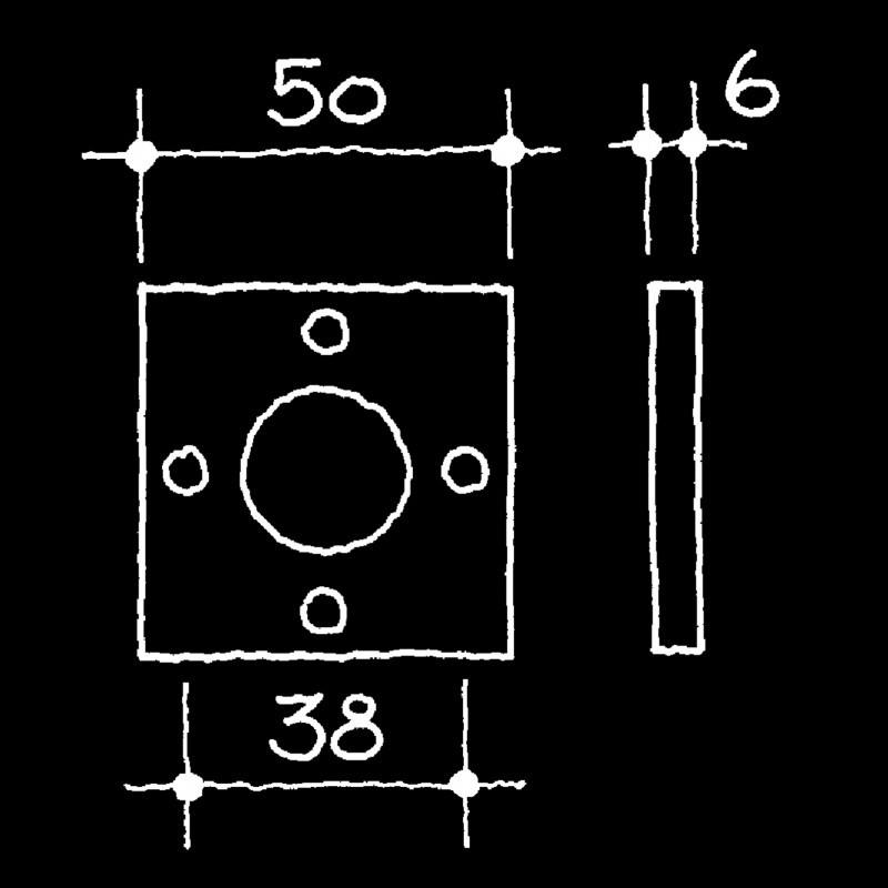Rosetten Bauhaus Gropius Walter (52.930.64.)