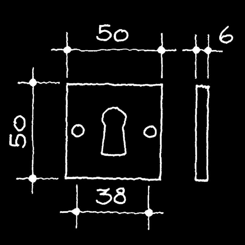 Rosetten Bauhaus Gropius Walter (52.932.64.)