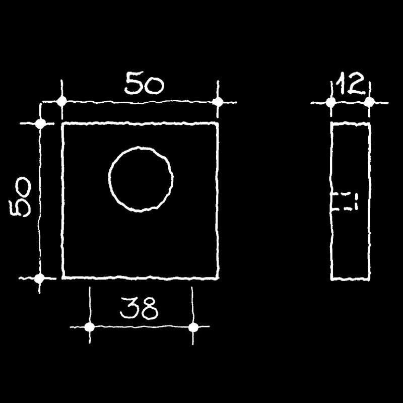 Rosetten Bauhaus Gropius Walter (52.934.64.)