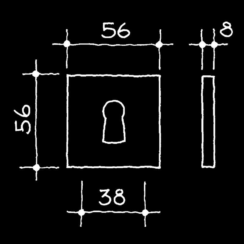 Rosetten Bauhaus Gropius Walter (52.938.64.)