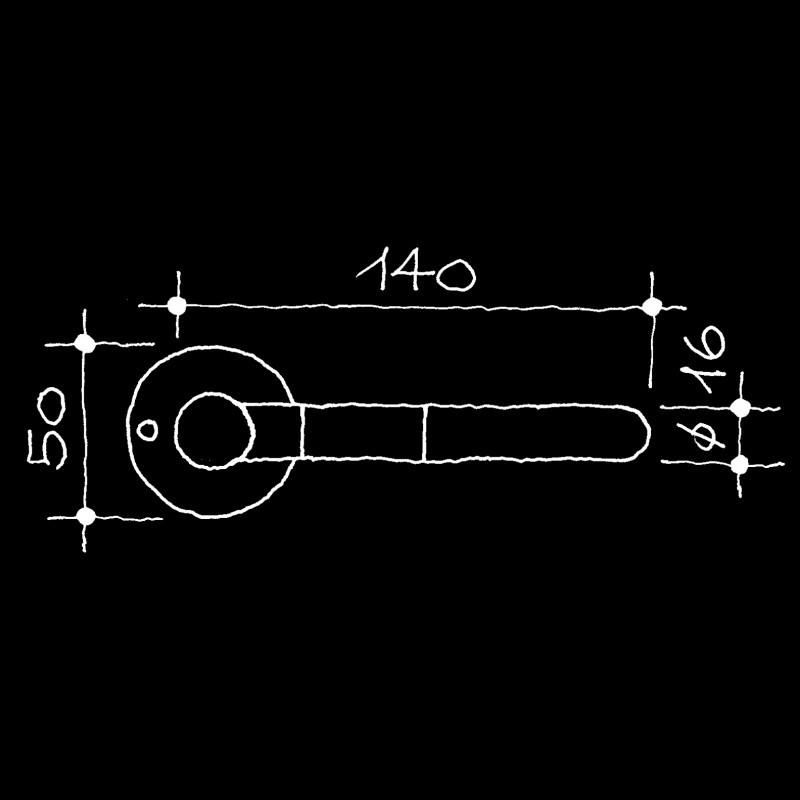 Türdrücker Industrie-Klassiker Wittgenstein Ludwig (55.136.23.)