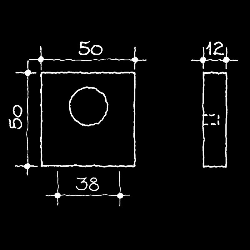 Rosetten Bauhaus Gropius Walter (55.164.00.)