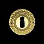 Schlüsselrosette - Rosetten Jahrhundertwende Unbekannte Meister (58.602.00.)