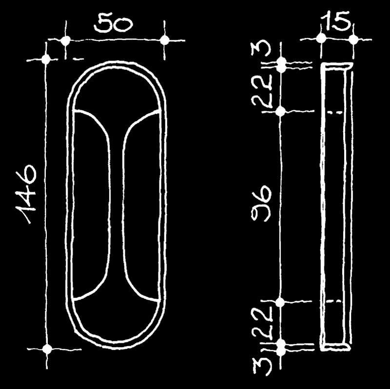 Schiebetürmuscheln Schweizer Design Gschwind Dominik (63.935.23.)
