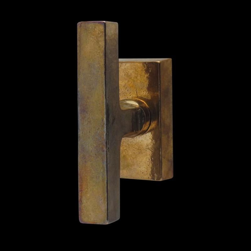 Fenstergriffe Bronzeguss (67.601.89.)
