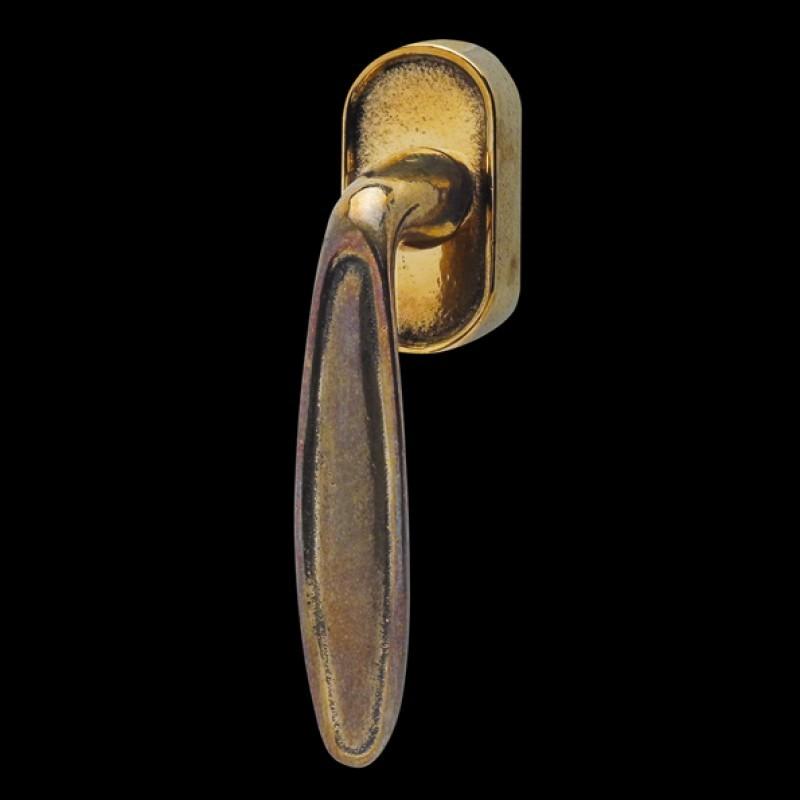 Fenstergriffe Bronzeguss (67.605.89.)