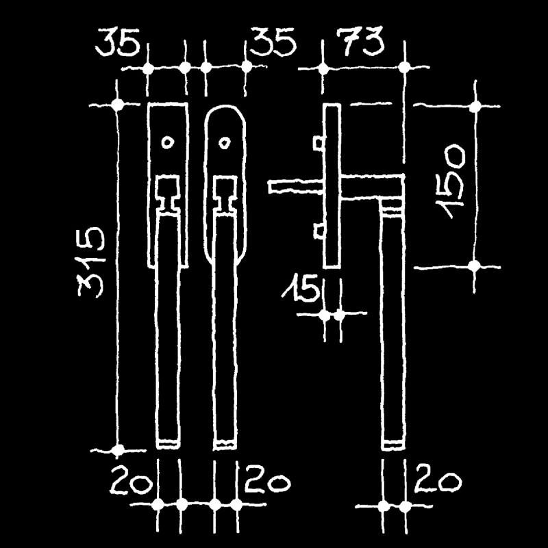 Hebeschiebetürgriffe Manufaktur (67.832.70.)