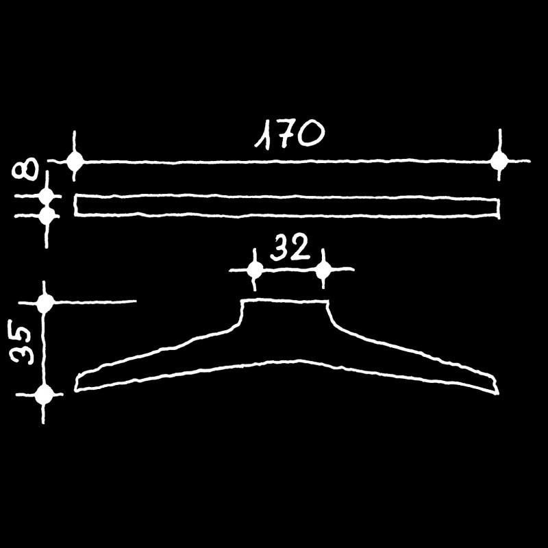Möbelgriffe Manufaktur (73.751.11.)