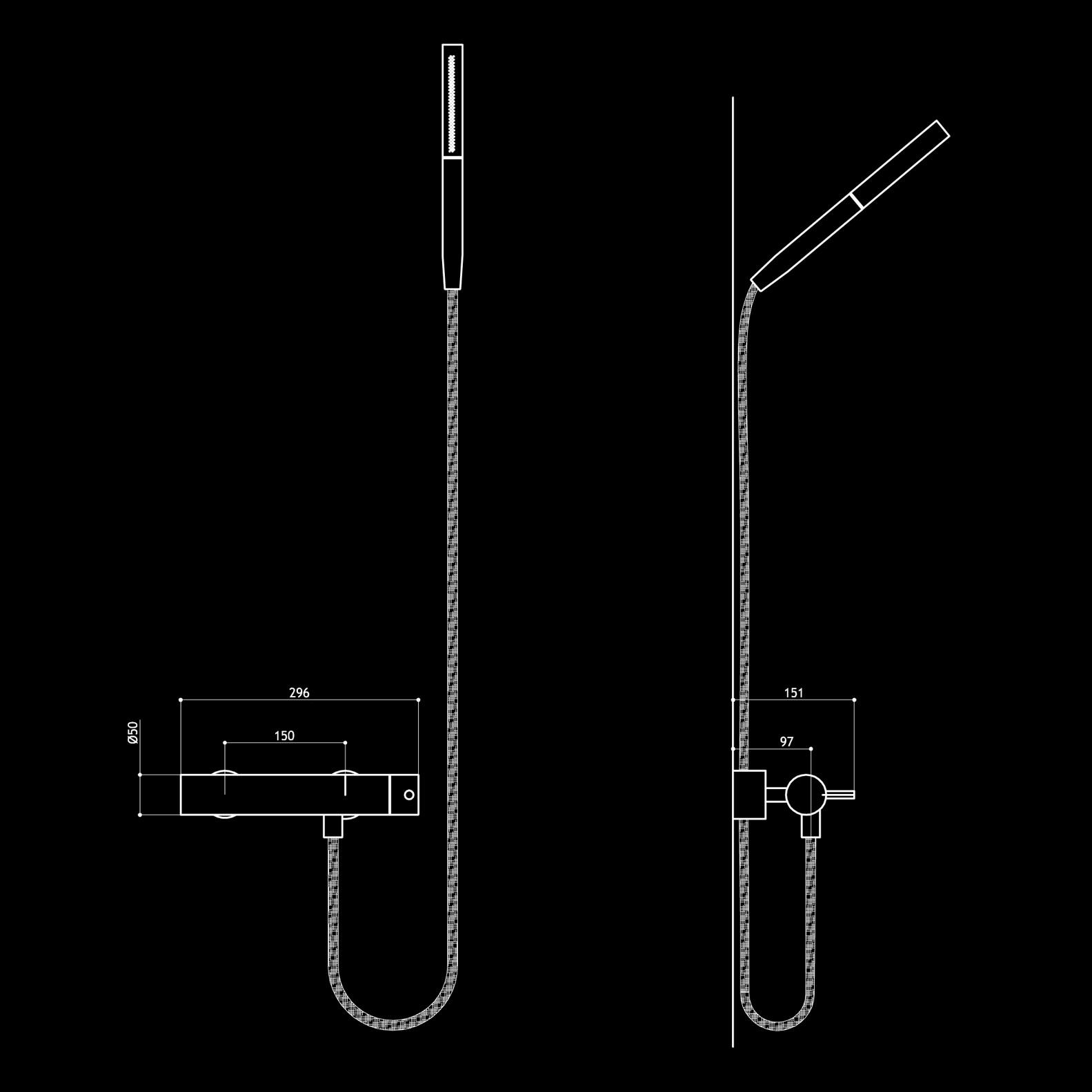 Mgs dusch armaturen duschgarnitur mgs edelstahl matt - Mgs armaturen ...